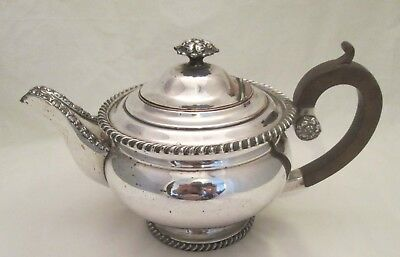A Large Early 19thC Old Sheffield Plate Tea Pot - High quality