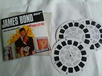 View master, drei Scheiben, James Bond