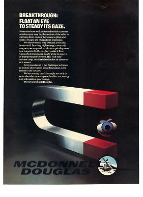1983 Vintage Print Ad Steady Mobilw Cameras Magnetic Rare Earth Technology