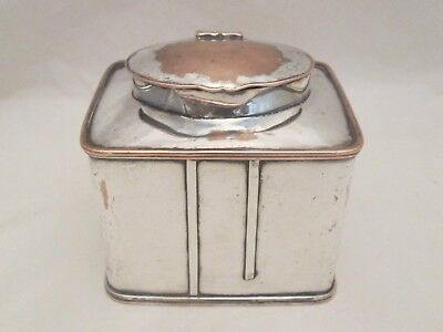A Fine Old Sheffield Plate Tea Caddy c1800