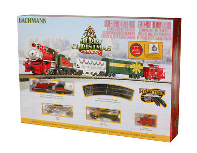 Bachmann 24027 Merry Christmas Express (N Scale) Ready To Run Train Set