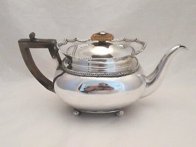 A Fine Old Sheffield Plate Tea Pot c1830