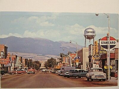 STANDARD, CONOCO, Ford & Chevrolet dealers. Townsend, MT 1951 & 1959 Chevy
