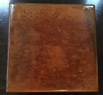 Wooden Box Hinged Dated 1896