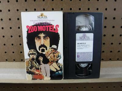 VHS Tape Frank Zappa's 200 Motels MGM Home Video