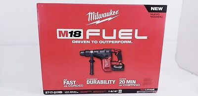 Milwaukee 18V FUEL 2717-21HD 1-9/16 in. Rotary Hammer Set (18331-2LKE)
