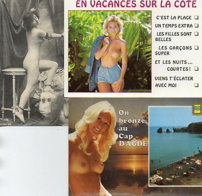 Nue...nues.. ....lot De 11 Cartes Postales.......voir Scans......lot A372