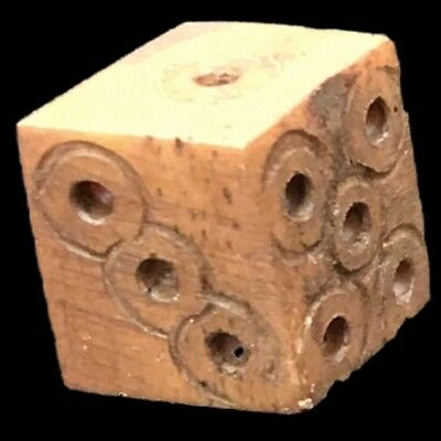 VERY RARE ANCIENT ROMAN PERIOD GAMING DICE 2nd-3rd Cent AD (3)