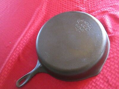 Wagner Ware No. 10 Cast Iron Skillet Smooth Bottom, Vgc