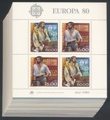 PORTUGAL - 100 x 1980 EUROPA CEPT BLOCK 29 ** MINT/NH - MICHEL: 700,00