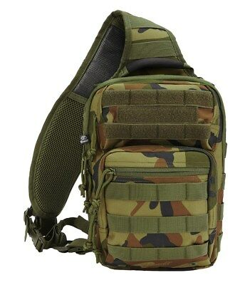 SAC A DOS SACOCHE BRANDIT US Cooper EveryDayCarry Sling CAMOUFLAGE WOODLAND