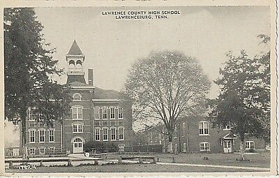 1940's Lawrence County Court House in Lawrenceburg, TN Tennessee PC