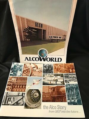 Alco Story and Job employment recruitment 1980s (A047)