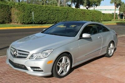 2013 Mercedes-Benz E-Class E550 COUPE, P2 PKG, WOOD TRIM PKG, LANE TRACKING P 2013 Mercedes-Benz E-Class E550 COUPE, P2 PKG, WOOD TRIM PKG, LANE TRACKING P 25