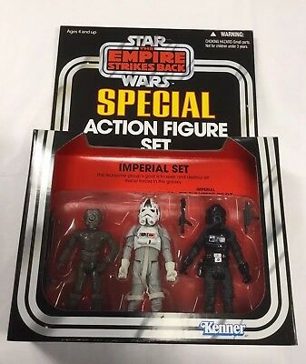 IMPERIAL SET Star Wars The Empire Strikes Back 4- LOM AT-AT DRIVER PILOT