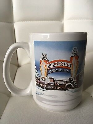 Horseshoe Casino-Hotel Center MS Beer Coffee Mug Great Condition 4 1/2""