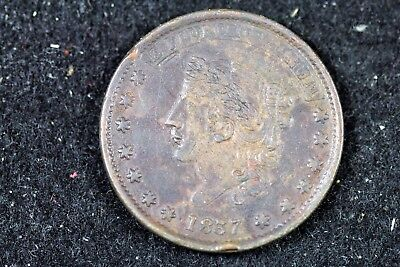 1837 - Hard Times Token, Millions For Defence Not One Cent For Tribute! #H17741