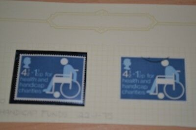 1975 Health & Handicap Funds   MNH & Used Stamps #k36
