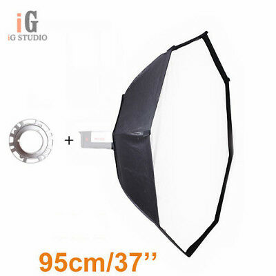 Photo studio octagon softbox 95cm with bowens mount for strobe