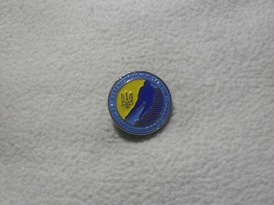 2018 PyeongChang - Ice Hockey Federation of Ukraine pin