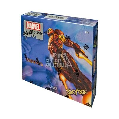 2018 Upper Deck Marvel Masterpieces Hobby Box