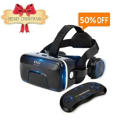 Vr Headset With Remote Controller Immersive 3D Vr Glasses Virtual Reality Headse