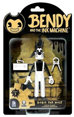 Bendy And The Ink Machine Action Figure - Boris the Wolf - Brand New!