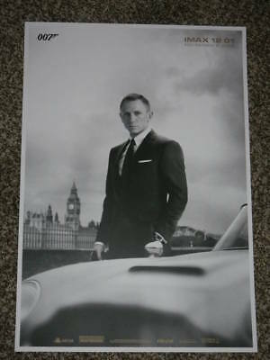SKYFALL IMAX 13.5x19.5 PROMO MOVIE POSTER