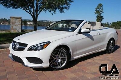 2014 Mercedes-Benz E-Class  Mercedes Benz E550 convertible MSRP: $77,845 premium package AMG