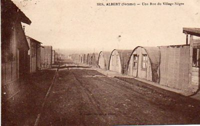 80.albert.....cpa...rue Du Village Negre........lot A331