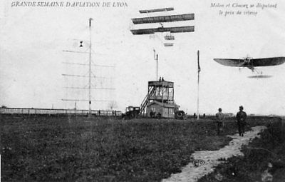 69.lyon.....cpa..semaine De L'aviation En 1910........lot A327