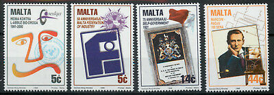 Malta 1996 Anniversaries and Events set SG1018-1021 MNH unmounted mint