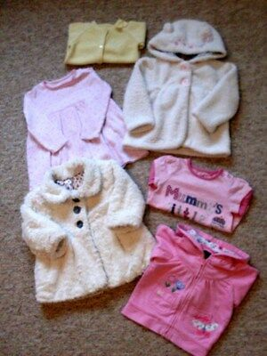 BABY GIRLS WINTER CLOTHES, AGE 6 months / 9 months + GOOD CONDITION