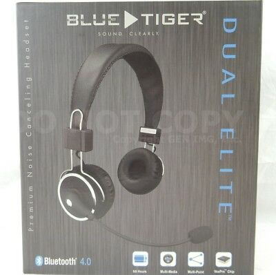 15b133f034c NEW Blue Tiger DUAL Elite Bluetooth Wireless Headset Pro Trucker Cell Phone  Over