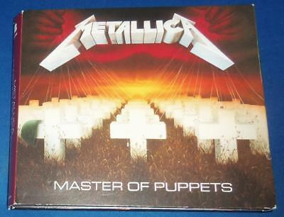 2017 METALLICA Master of Puppets Remastered & Expanded 3 CD SET Blackened