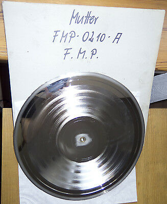Acetate Metal Mother Master Stamper FMP Schlippenbach Quartett Three Nails Left