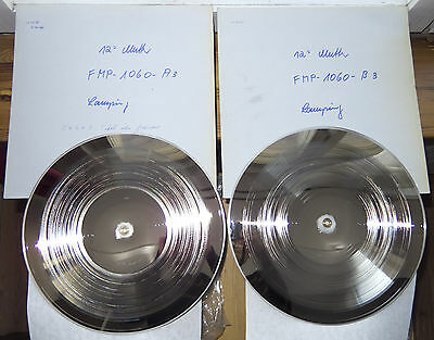 Acetate Metal Mother Master Stamper - Peter Brötzmann FMP Free Music Production