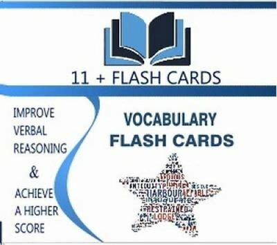 Eleven Plus: Vocabulary Flash Cards 9780993157004 (Cards, 2014)