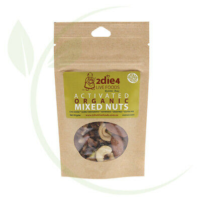 2DIE4 LIVE FOODS - Activated Organic Mixed Nuts Activated with Fresh Whey 40g
