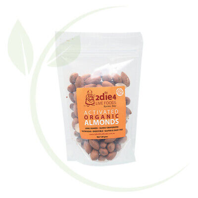 2DIE4 LIVE FOODS - Activated Organic Almonds  120g