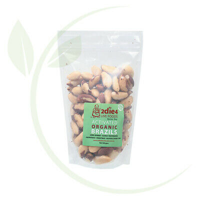 2DIE4 LIVE FOODS - Activated Organic Brazil Nuts  300g