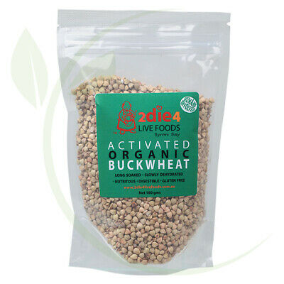 2DIE4 LIVE FOODS - Activated Organic Buckwheat  180g
