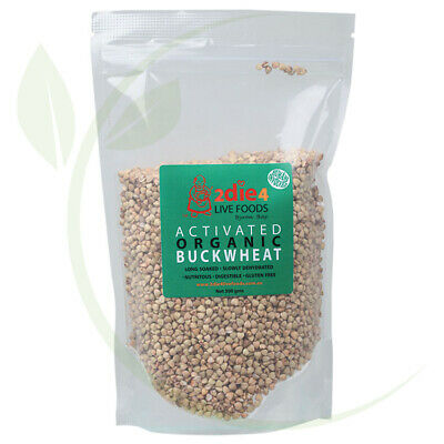2DIE4 LIVE FOODS - Activated Organic Buckwheat  300g