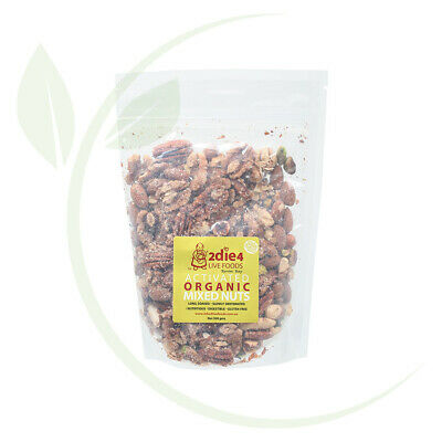 2DIE4 LIVE FOODS - Activated Organic Mixed Nuts Activated with Fresh Whey 300g