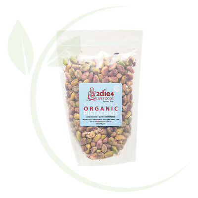 2DIE4 LIVE FOODS - Activated Organic Pistachios  225g