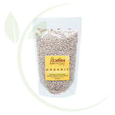 2DIE4 LIVE FOODS - Activated Organic Sunflower Seed  300g