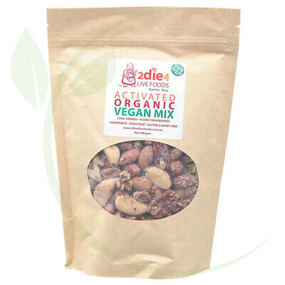 2DIE4 LIVE FOODS - Activated Organic Vegan Mix  300g
