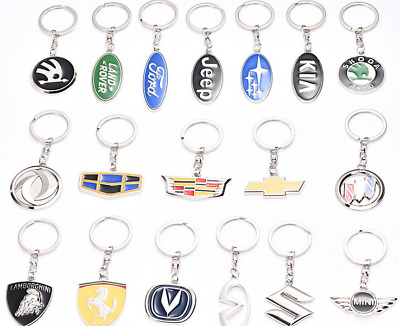2019  sale Key Chain Car Logo Keyring Pendant Ring Accessories Keychain Metal