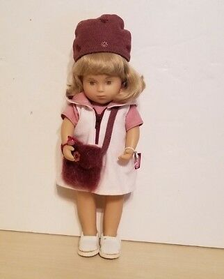 """Gotz Sasha Toddler Girl Doll """"Iona"""" with Tags. 13"""" Made in Germany"""