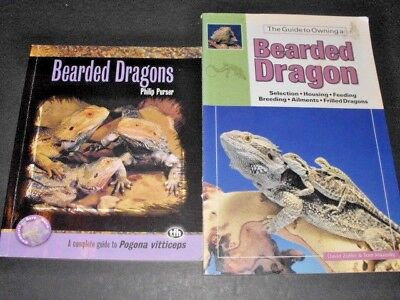Lot # 50 - Two Books On Bearded Dragons